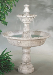 Large Tazza Tiered Cast Stone Fountain by Henri Studio