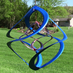 "Colored 14"" Double Wind Spinner"