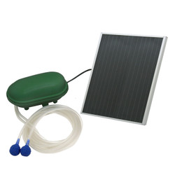 Sunnydaze Air Pump Solar Oxygenator Plus With Battery Pack, 52 GPH