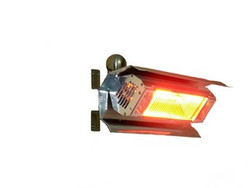 Mohave Stainless Steel Wall Mounted Infrared Patio Heater