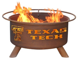Texas Tech Fire Pit