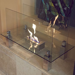 Nu-Flame Freestanding Fiero Ethanol Fireplace