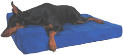 Memory Foam Pillow Dog Bed by Max Comfort