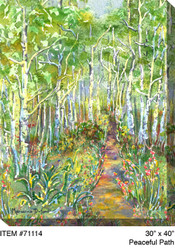 Peaceful Path Canvas Wall Art