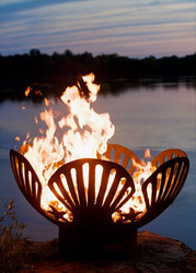Barefoot Beach Gas Fire Pit by Fire Pit Art