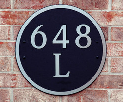 Address Plaque-Model 648