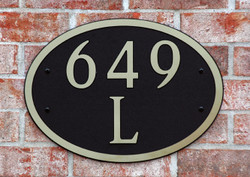Address Plaque-Model 649