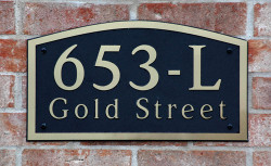 Address Plaque-Model 653