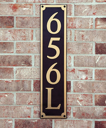 Address Plaque-Model 656
