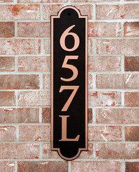 Address Plaque-Model 657
