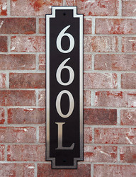 Address Plaque-Model 660