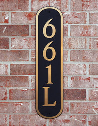 Address Plaque-Model 661