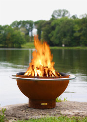 Bella Luna Fire Pit by Fire Pit Art