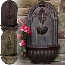 Sunnydaze Florence Outdoor Wall Fountain