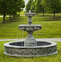 Parisienne Two Tier Fountain by Campania International