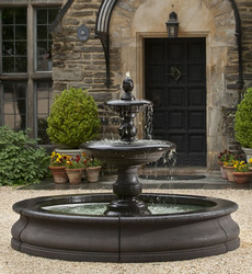 Caterina Fountain in Basin by Campania International
