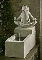 Zen Plinth Fountain by Campania International