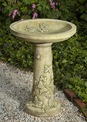 Butterflies Are Free Birdbath by Campania International