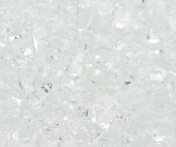 "1/4"" Crushed Ice Fire Glass"