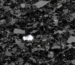 "1/4"" Onyx Black Fire Glass"