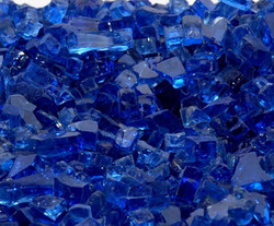 "1/4"" Royal Blue Fire Glass"