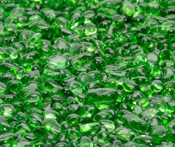 "1/4"" Electric Green Fire Beads"