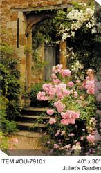 Juliet's Garden Canvas Wall Art