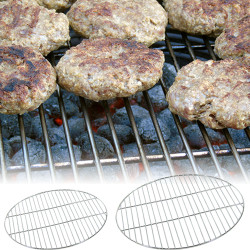 Sunnydaze Chrome Plated Cooking Grate - Size Options