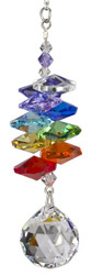 Crystal Rainbow Cascade Rainbow Maker with Ball