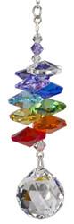 Crystal Rainbow Cascade Rainbow Maker with Ball