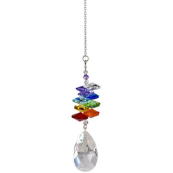 Crystal Rainbow Cascade Almond Rainbow Maker