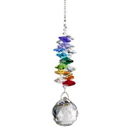 Crystal Grand Cascade Rainbow Suncatcher