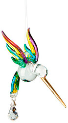 Fantasy Glass Hummingbird Rainbow Maker