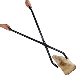 "40"" Log Claw Grabber - Move Fire Wood Easily and Safely in Your Fire Pit or Fireplace"