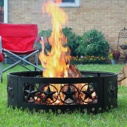 "36"" Heavy Duty Four Star Campfire Ring"