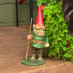 Woody Jr. the Gnome, 13.5 Inch Tall by Sunnydaze Decor