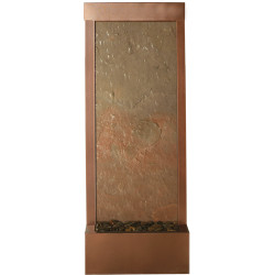 4' Coppervein Gardenfall with Slate Panel