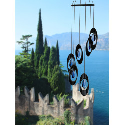 Woodstock Chimes Midnight Bellissimo Spiral Bells