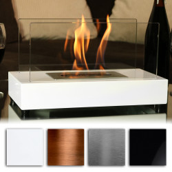 Sunnydaze El Fuego Ventless Tabletop Bio Ethanol Fireplace