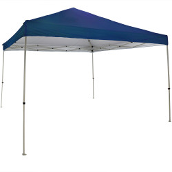 Sunnydaze Quick-Up Canopy 12 Foot x 12 Foot Straight Leg Canopy with Carrying Bag