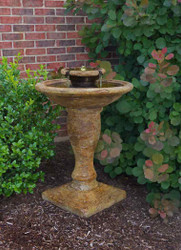Henri Studio Cast Stone Windstone Water Fountain