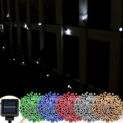 Sunnydaze 200 Count LED Solar Powered String Lights