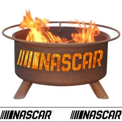NASCAR Racing Wood Burning Fire Pit