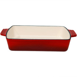 Enameled Cast Iron Baking Dish