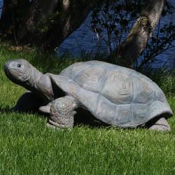 Sunnydaze Todd the Tortoise Indoor/Outdoor Statue, 30 Inch Long