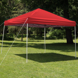 Sunnydaze Quick-Up Instant Canopy Event Tent Shelter with Carrying Bag