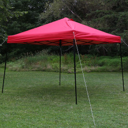 Sunnydaze Heavy-Duty Straight Leg Quick-Up Instant Canopy Event Tent Shelter