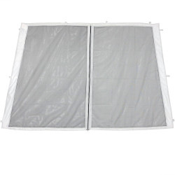 Zippered Mesh Sidewall Kits for Quick-Up Canopies (walls only)