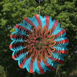 3D Multi-Color Sun Wind Spinner