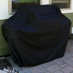Sunnydaze Grill Cover for Gas or Charcoal BBQs, Heavy-Duty Waterproof Construction